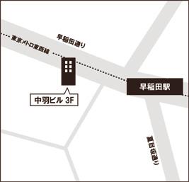 エンカレッジ早稲田駅前マップ
